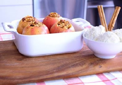 Baked Granola Apples Recipe