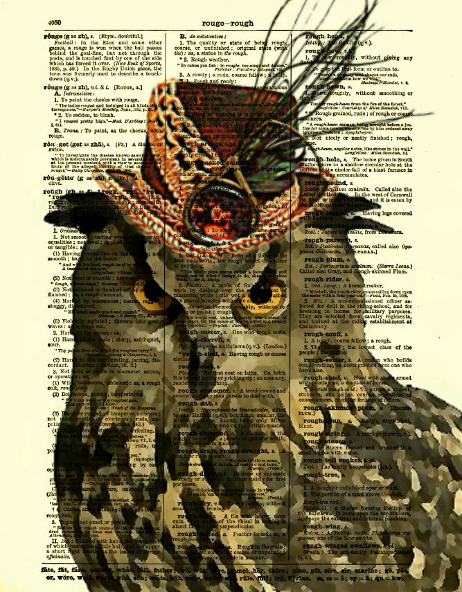 06-Steampunk-Owl-Belle-Old-Books-and-Dictionaries-in-Re-Imagination-Prints-www-designstack-co