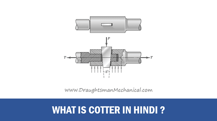 24. What Is Cotter in Engineering Drawing - Cotter क्या होती है