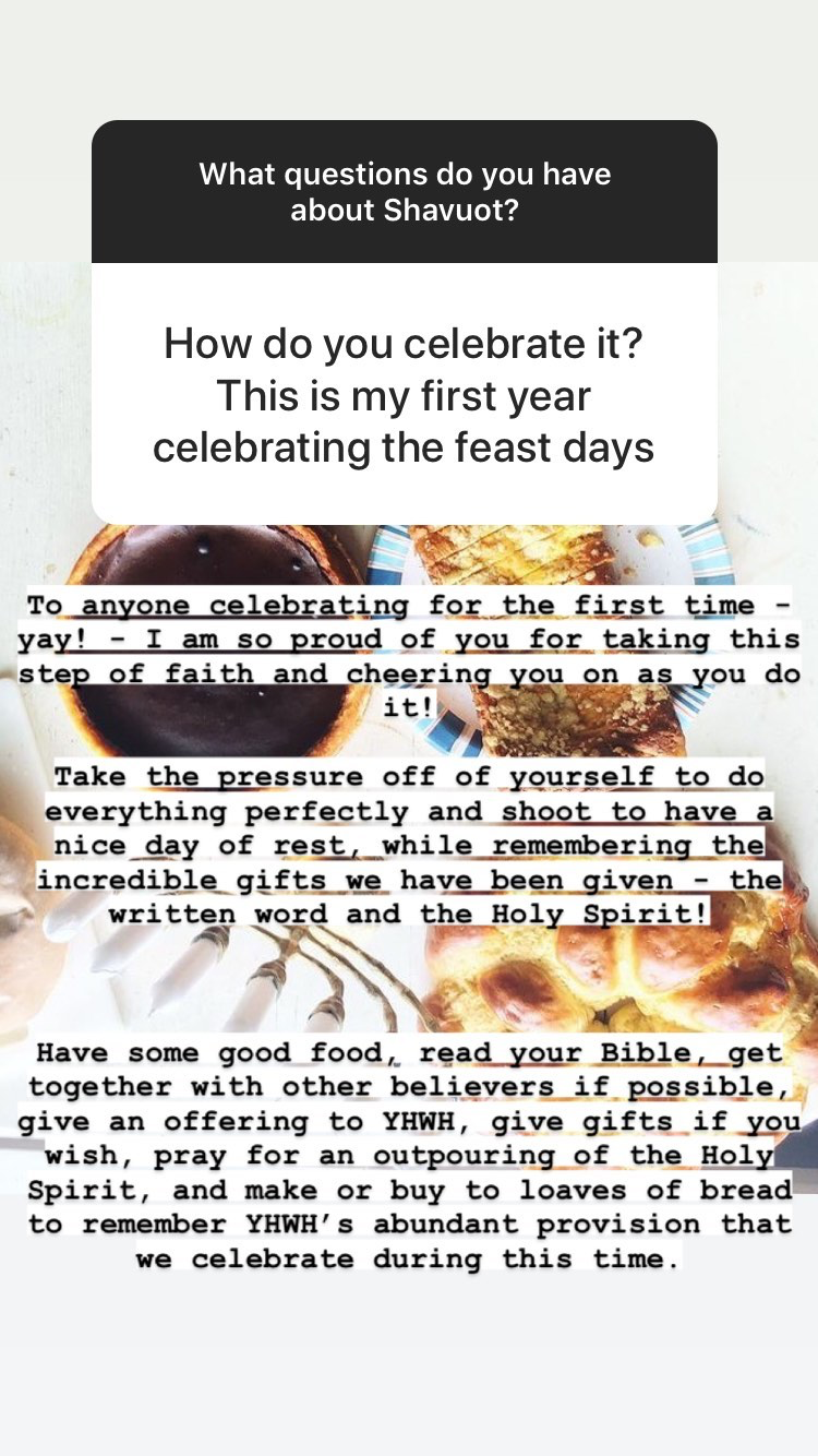 How to celebrate Shavuot for the first time | Land of Honey