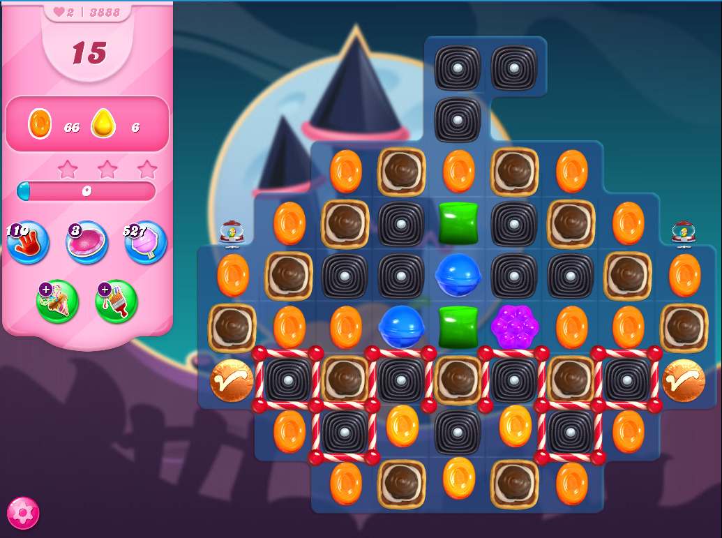 Candy Crush Saga level 3888