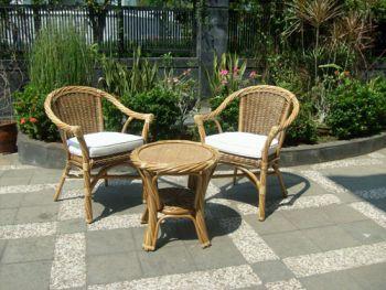 Fotos de muebles de rattan for Muebles de ratan para jardin baratos