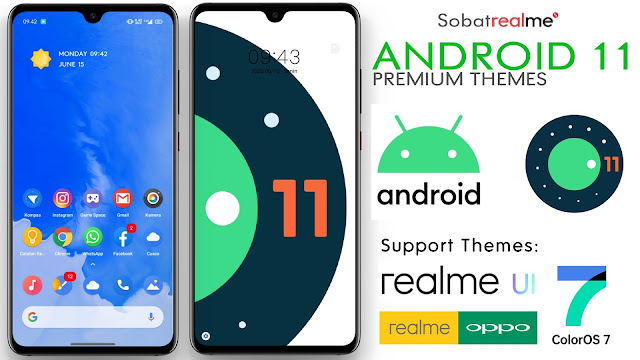 Themes Android 11 OPPO & Realme