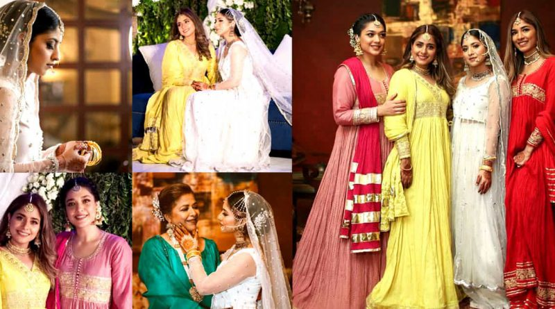 Sanam Jung's Sister Sonia Wedding – Ethereal Pictures of Three Sisters