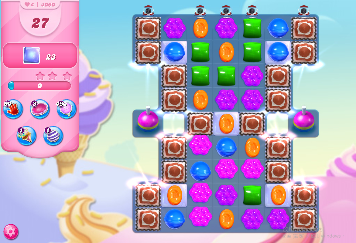 Candy Crush Saga level 4060