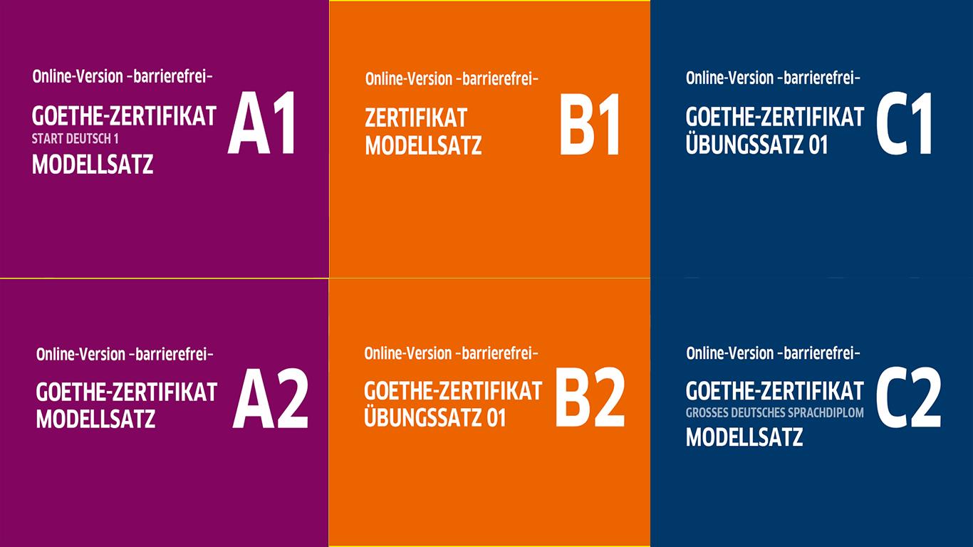 Online Prüfungen Goethe A1 A2 B1 B2 C1 C2 Deutschland 24