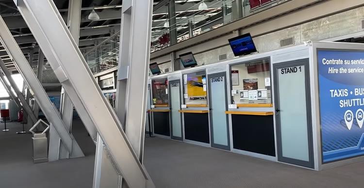 El Calafate Aeropuerto servicios