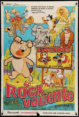 Poster: Rock el Valiente (Wan Wan Chushingura)