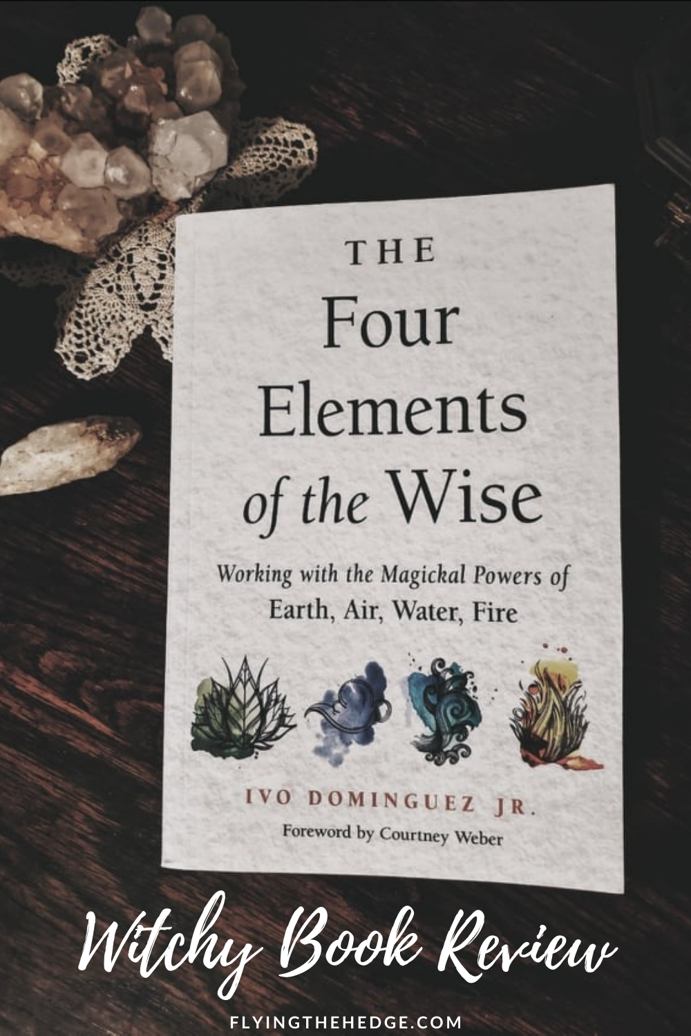 book review, witchy book review, witch reads, pagan, witch, occult, witchcraft, elemental witchcraft, elements, air, water, fire, earth