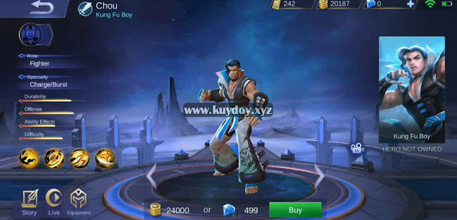 Download Script Skin Chou Special Patch Terbaru