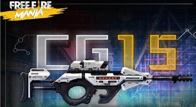 Cara Menggunakan Senjata CG15 Free Fire