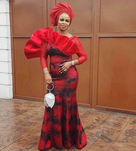 The 20 Best of Owambe Aso Ebi Dresses 5