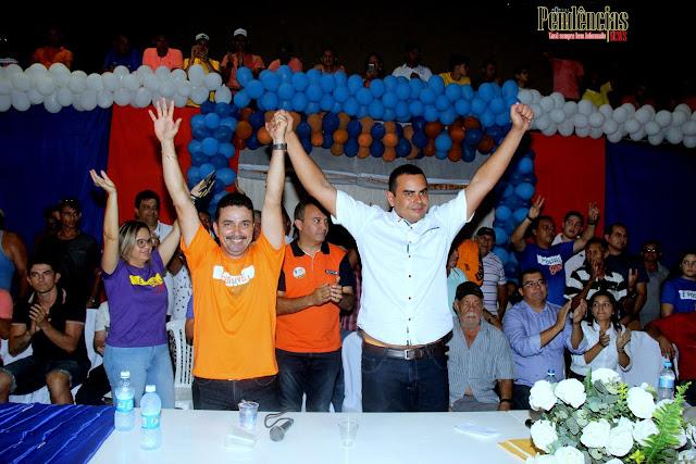 Guamaré: Solidariedade realizou sua convenção que homologou Mozaniel como candidato a prefeito nas eleições suplementares.