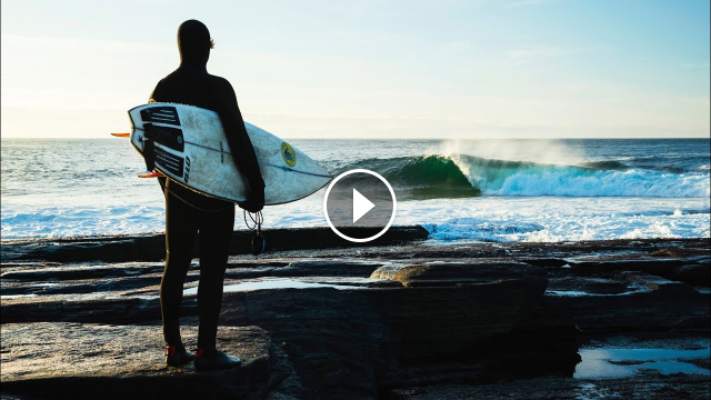 This Playful North Atlantic Slab Makes Coldwater Surfing Look Inviting