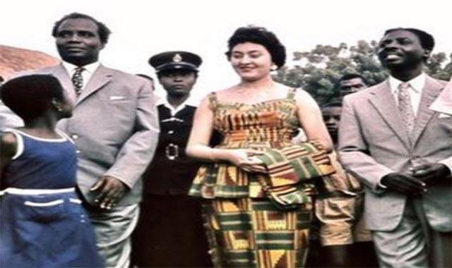 فتحية رزق القبطية المصرية التي أصبحت سيدة غانا الأولي