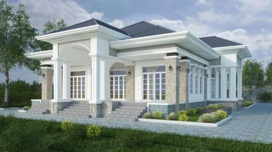 rumah minimalis atap limas 1 lantai