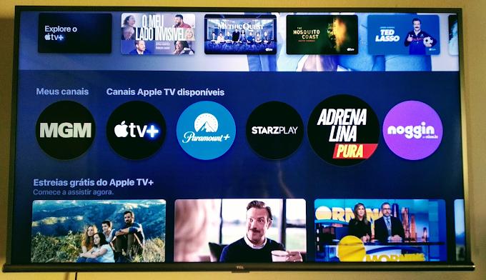 Canais do Apple TV