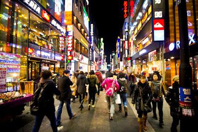 Pusat perbelanjaan di Seoul,Korea