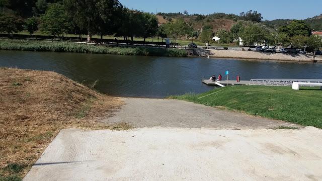 Praia Fluvial em  Odemira (Centro) Rio Mira
