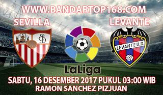 Prediksi Sevilla vs Levante 16 Desember 2017
