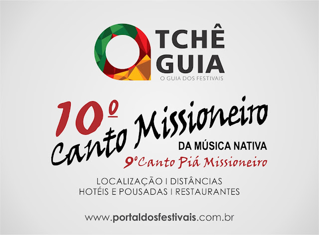 GUIA - 10º CANTO MISSIONEIRO  DA MÚSICA NATIVA