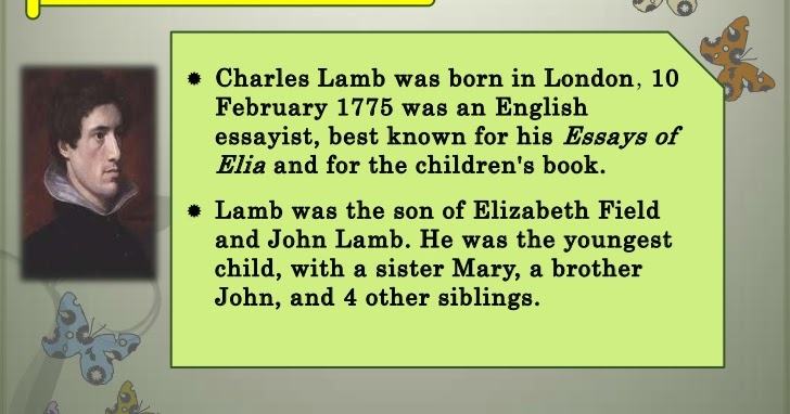 compare and contrast francis bacon and charles lamb as essayists