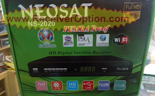 NEOSAT NS-2020 PEMRA PROOF HD RECEIVER NEW SOFTWARE
