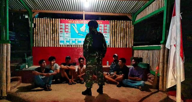 8 Pria Diamankan, Satgas Yonif Bremoro Berhasil Cegah Aksi Kejahatan