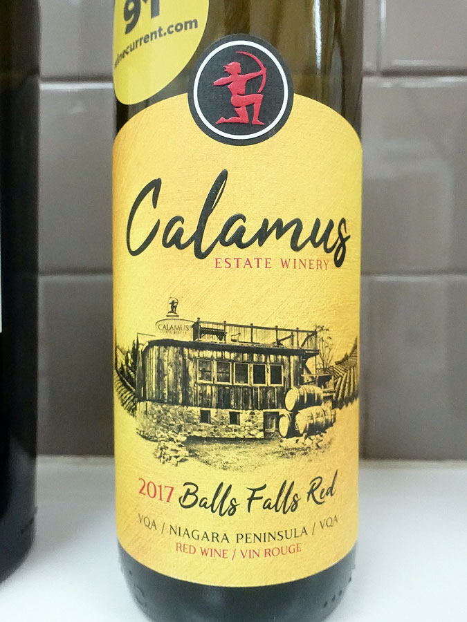 Calamus Ball's Falls Red 2017 (88 pts)