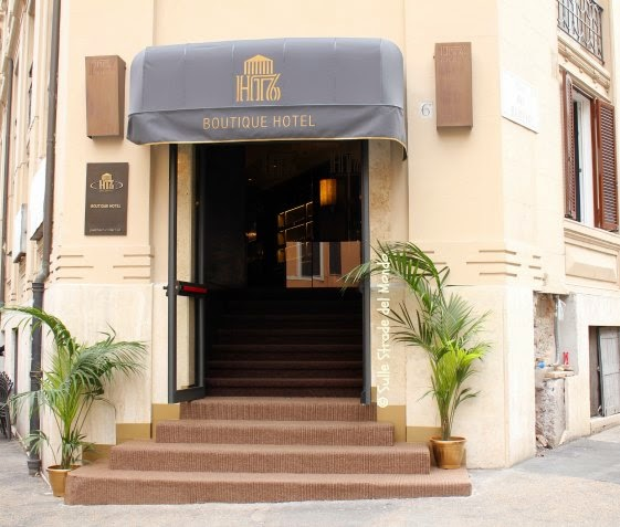 entrate dell'hotel