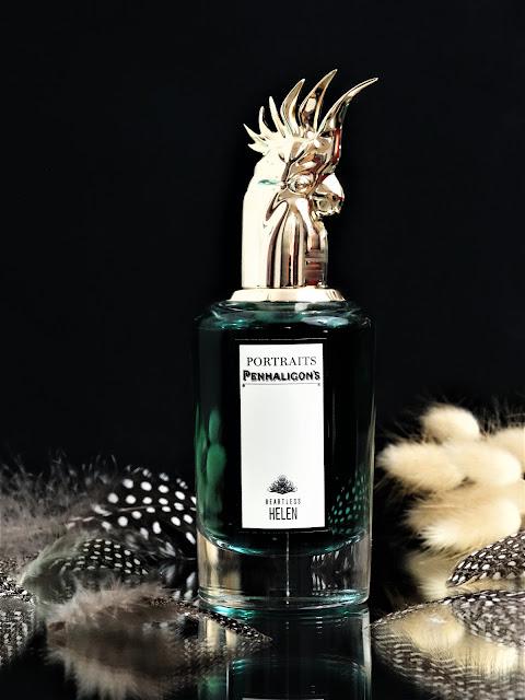 Penhaligon's Heartless Helen avis, nouveau parfum, parfum de niche, portraits penhaligon's, revue parfum, perfumery