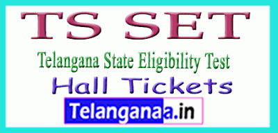 TS SET Hall Tickets  Download