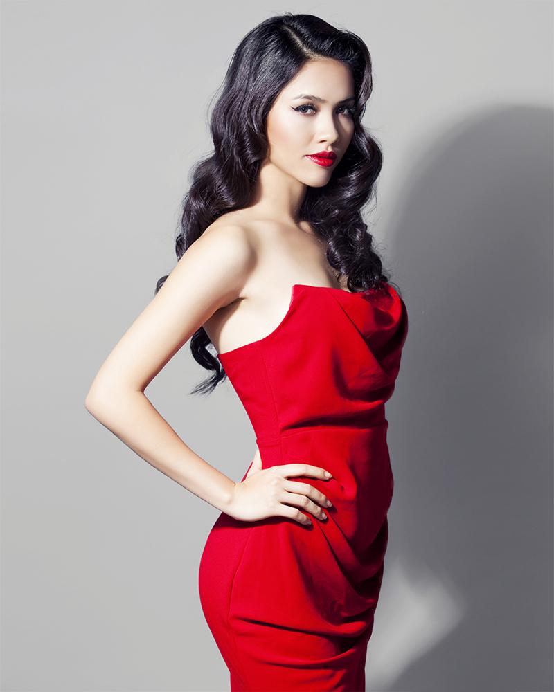 model seksi dan mansi Vietnma Vu Hoang My