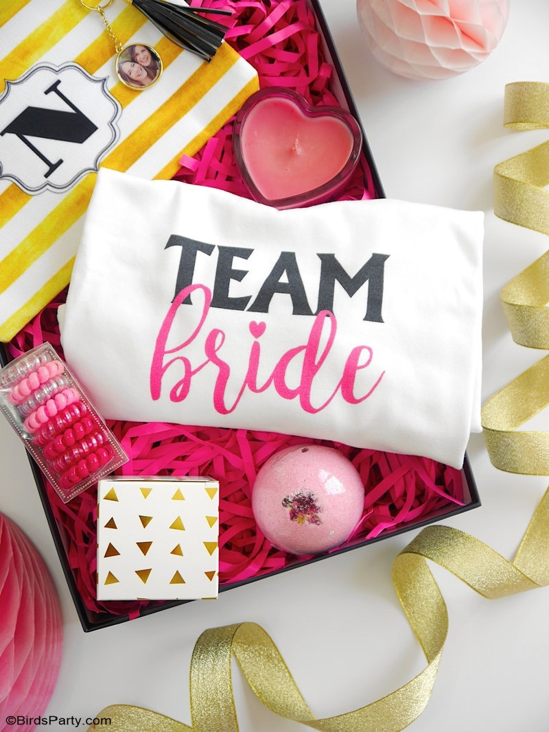 DIY Bridal Shower Stationery & Personalized Gifts  - easy and affordable bridal shower or bachelorette party ideas and bridesmaid gifts! #WalmartPhoto | #sponsored content created by @birdsparty for @wm_photo_center #bridalshower #bacheloretteparty #bridalshowerparty #bachelorettepartyideas #bridalshowerinvitations #bridalshowerdecor #diybridalshower #bridesmaidgifts #diybridalshowerdecor #diybacheloretteparty