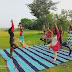 अंतर्राष्ट्रीय योग दिवस पर एनसीसी कैडेट  तथा भाजपाइयों ने अपने-अपने घरों में योगाभ्यास किया।