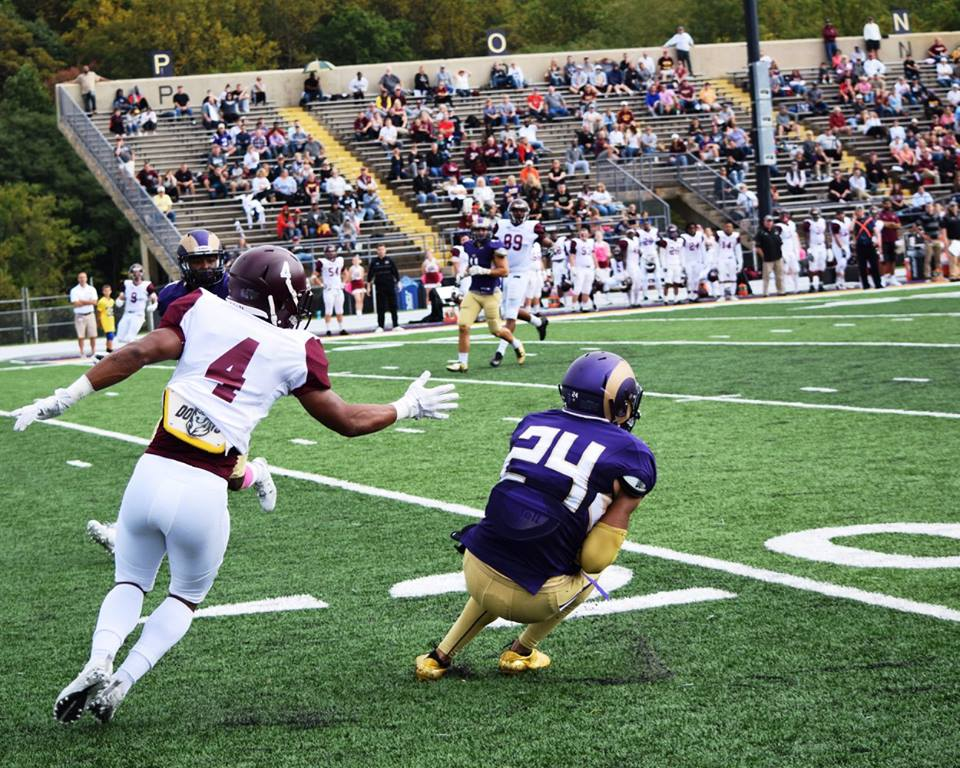 Golden Ram Football Club Game Report Bloomsburg 20 West Chester 19
