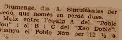 Recorte de La Rambla, 5/5/1936