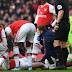 Arsenal centre-back out for up to nine months with ruptured ACL