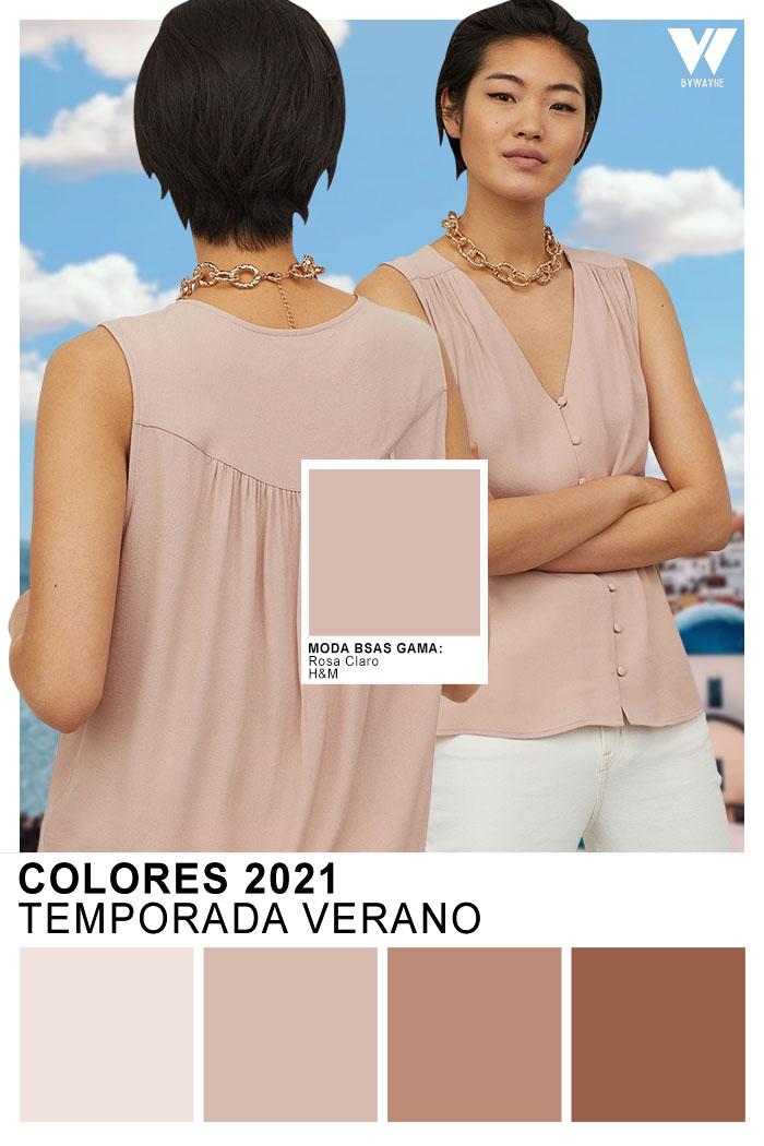 Colores primavera verano 2021 nude beige claro