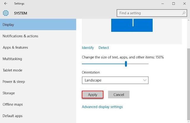 Cara Merubah Ukuran Font di Windows 10 - 4