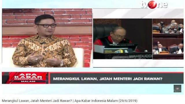Jawaban Politisi Golkar Ace Hasan saat Ditanya Ikhlas Tidak jika Oposisi Diajak Koalisi Jokowi