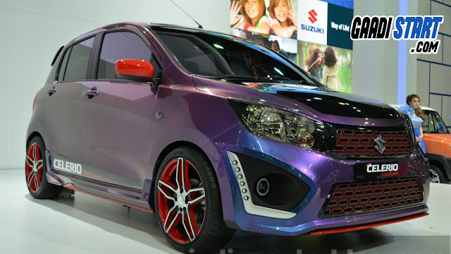 Suzuki Celerio Custom DRLs at the 2014 Thailand International Motor