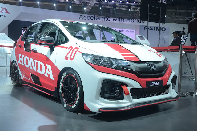 Honda Jazz Racing Concept at Auto Expo New Delhi 2016