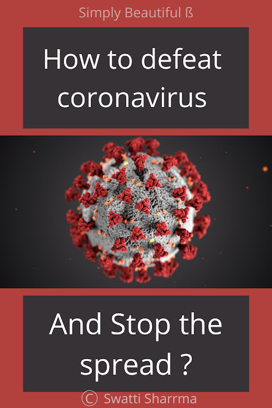 Stop the spread of coronavirus covid-19