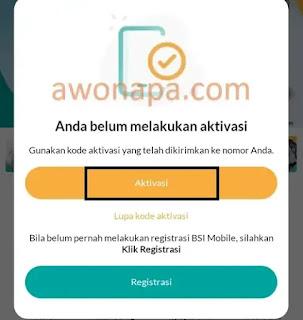 Aktivasi BSI Mobile