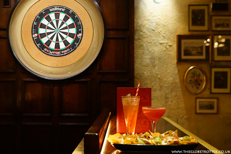 Enjoy a game of darts at Flight Club
