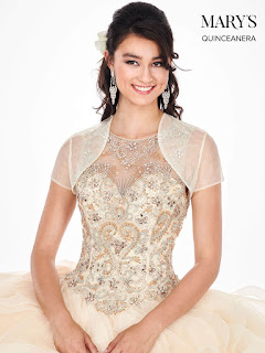 Ball Gown Champagne Color Dress Front Design