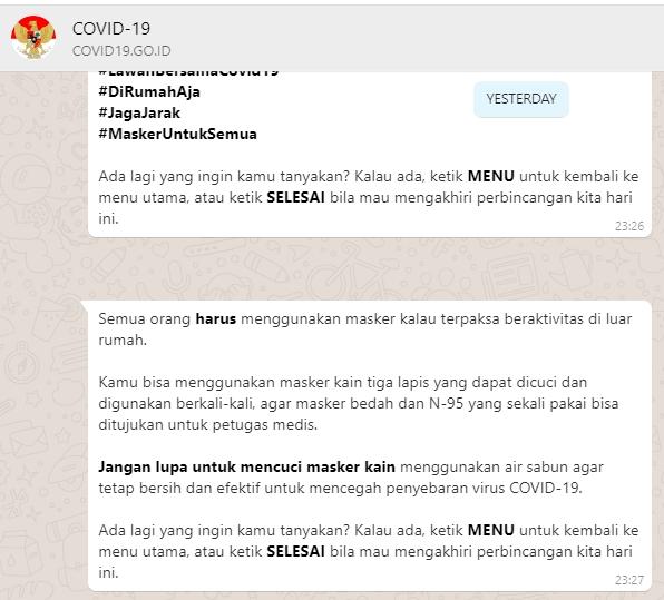 Semua Warga Negara Indonesia Wajib Pakai Masker Jika Keluar Rumah