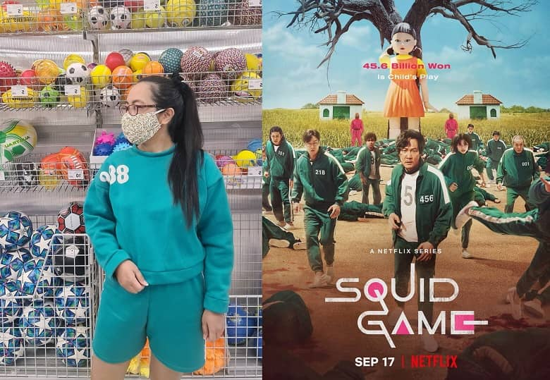 DIY Squid Game outfit