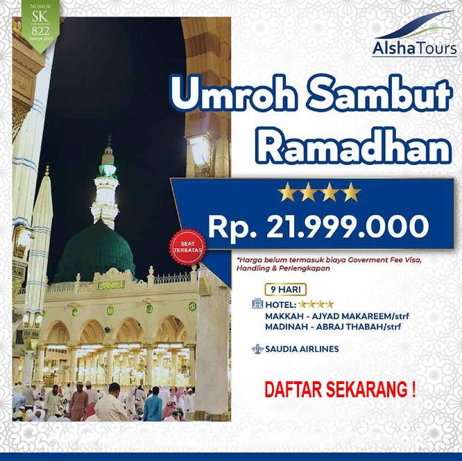 umrah sambut ramadhan